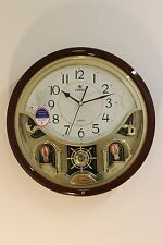 Power Melodies in Motion 15 inches Wall clock with Swinging pendulum (PW6115JPMK