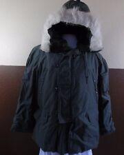 VTG 1980s Military N-3B PARKA Extreme Cold Weather Snorkel Hood Greenbrier Sz L