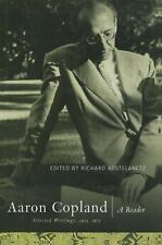 Aaron Copland: A Reader: Selected Writings, 1923-1972-ExLibrary
