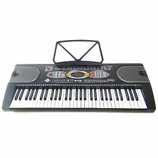 Tastiera Elettronica Keyboard MK2085 61 Tasti LCD USB Intelligence Teaching Demo
