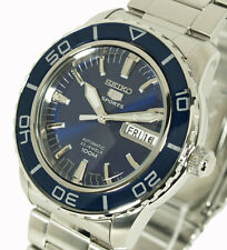 SEIKO 5 SPORTS MEN'S AUTOMATIC BLUE PEARLESCENT FACE SNZH53J1 SNZH53
