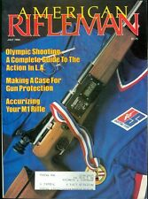 1984 American Rifleman Magazine: Air Guns/Olympic Shooting/M1 Rifle Accurizing
