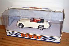 """""""RARO!!!"""" 1960 JAGUAR XK150 DHC in inglese antico bianco da DINKY (DY036/A)"""
