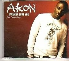 (CT471) Akon, I Wanna Love You Feat Snoop Dogg - 2006 DJ CD