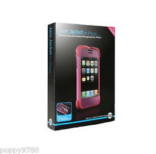 Jam Jacket DLO Silicone Case Headset Management iPhone 2G 3G S in Retail Pink