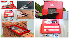 BRICKY  WALL BUILDING TOOL KIT (NEW ADJUSTABLE MODEL) ALL ALL SIZE WALL