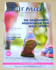 Weight Watchers Meine Woche 21.6 - 27.6 Für Mich ProPoints 2015 Wochenbroschüre