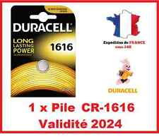 1 Batteries CR-1616 DURACELL knopf Lithium 3V DLC 2024