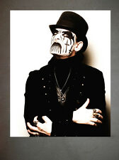 King Diamond Mercyful Fate Promo Photo 8x10 Judas Priest Iron Maiden Venom 2