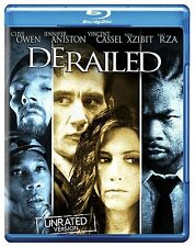 DERAILED (Clive Owen, Jennifer Aniston) Uncut  -  Blu Ray - Sealed Region free