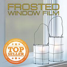 Vidrio Esmerilado Privacidad película de la ventana - 50 Cm Ancho X 1m