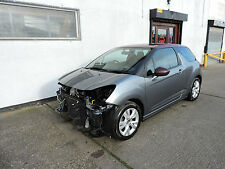11 Citroen DS3 1.6e-HDi Airdream DStyle Damaged Salvage Repairable Cat D
