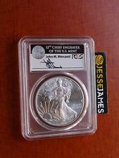2017 SILVER EAGLE PCGS MS70 MERCANTI FIRST STRIKE 1 OF 1,000 LABEL NO RESERVE!