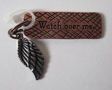 q Watch over Me angel wing SIMPLY TAGS N CHARMS double Charm Pendant Ganz