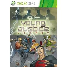 Young Justice Legacy Game Xbox 360 Microsoft Xbox 360 PAL Brand New