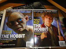 """""""THE HOBBIT"""" 2 COVERS ENTERTAINMENT WEEKLY MAGAZINE 2012 COLLECTOR EDITIONS 1&2"""