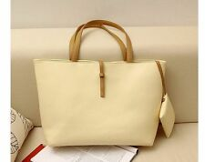 simple korean Fashion Women's PU Shoulder Bag Ladies Tote Bag Handbag purse