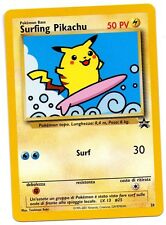 SURFING PIKACHU PROMO WIZARD BLACK STAR N. 28 ITALIANO