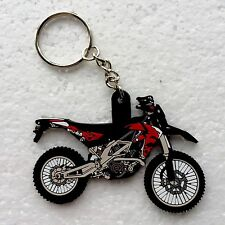 Aprilia RXV SXV SXV450 RXV450 Tank Friendly AntiScratch Soft Rubber Keyring T.