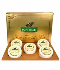 Pure Roots herbal Gold Facial kit 100gm FREE SHIPPING