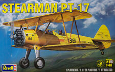 Revell Monogram WWII US Trainer Stearman PT-17 model kit 1/48