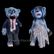 *BRIDE AND GROOM* Bad Taste Bears Hand Painted Resin Numbered Figurines (10cm)