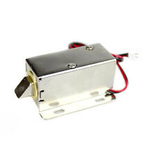 DC 12V Door Drawer Lock Tongue Luggage Solenoid Electric Solenoid Assembly