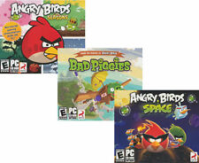Angry Birds 3 Pack - Bad Piggies + Seasons + Space - US Version - FREE S&H! NEW!