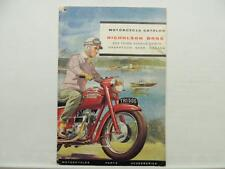 Vintage 1960 Triumph BSA Motorcycle Catalog Scooter Star Sunbeam LA101