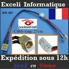 Connecteur CABLE dc jack dw087 Packard Bell TR87-BT-010UK TR87-BT-010
