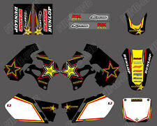 DECALS GRAPHICS BACKGROUNDS For SUZUKI RM125 RM250 RM 125 250 1996 1997 1998 D1