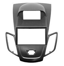CARAV 11-305 Autoradio Radioblende für FORD Fiesta 2-DIN mit Display schwarz
