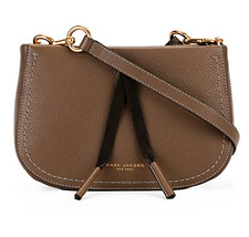 Marc Jacobs Teak Maverick Leather Crossbody Bag NWT $295