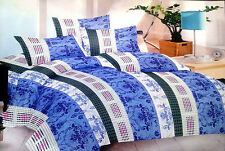 IntelloShoppe Exclusive PolyCotton Double bedsheet with 2 Pillow Covers.