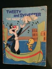 VINTAGE 76 TWEETY AND SYLVESTER THE MAGIC VOICE Warner Bro PB BOOK Big Little