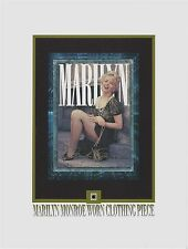 MARILYN MONROE personal worn CLOTHING PIECE relic swatch portion wardrobe owned