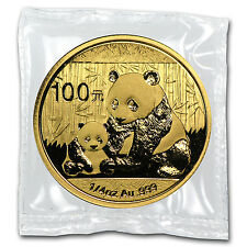 2012 1/4 oz Gold Chinese Panda Coin - Sealed in Plastic - SKU #65585