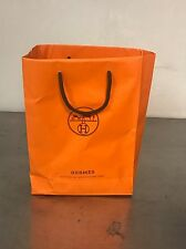 Hermes Collection Hermessence Lot Of 7 Vials & Shopping Bag