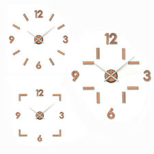 Karlsson Wall Clock DIY Numbers Designer Home Decor Modern Style Office Brown