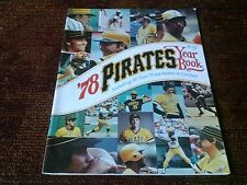pittsburgh pirates 1978  baseball Yearbook near mint condition