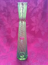 FLAWLESS NEW Exceptional BACCARAT Mikado Passion Crystal Hand Cut BUD VASE $360