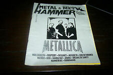 METAL HAMMER MAGAZINE 12/1997 METALLICA IN FLAMES KISS GAMMA RAY MEGADETH