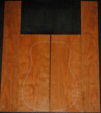 Curly Cherry back and side set Luthier Tonewood