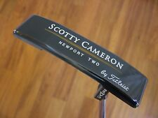 "NEW! ~ Scotty Cameron Newport Two Gun Blue ~ 35"" ~ 1995 / 500 Prototype"