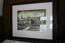 Gaerwen artist Sioned Furlong    very accomplished  ETCHING    ANGLESEY