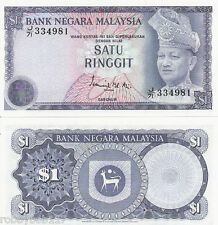 MALAYSIA 1 Ringgit Banknote World Money UNC Currency BILL Note p13a 1976 Rahman