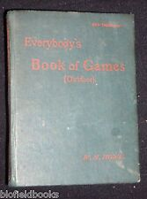 Everybody's Book of Games (Outdoor)-W H Howe-c1890-1st-Victorian Pastimes/Sport