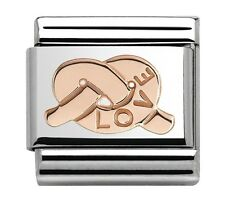 Nomination Charm Rose Gold Knot Of Love RRP £20