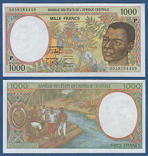 CENTRAL AFRICAN STATES / CHAD 1000 Francs (20)00 UNC P.602P g