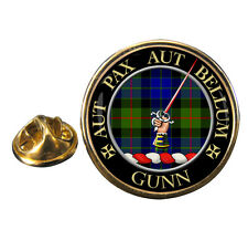 Gunn Scottish Clan Crest Lapel Pin Badge Gift